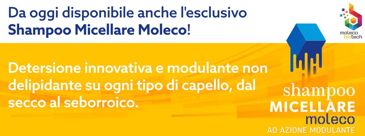 Banner Shampoo Micellare Moleco