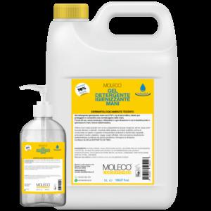 Gel Detergente Igienizzante Mani 500ml-5L